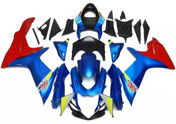 SUZUKI GSX-R 600/750 2011-2017 Комплект пластика