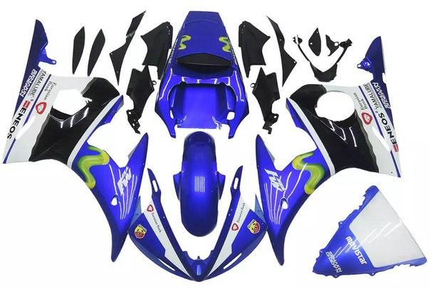 YAMAHA R6 2003-2005 Комплект пластика