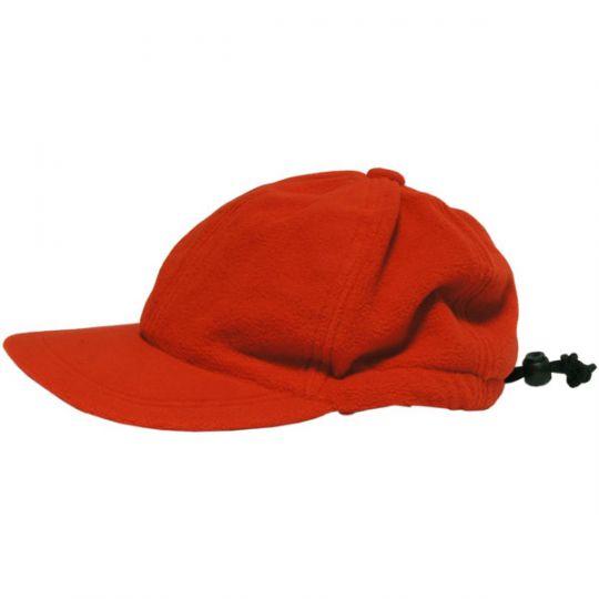 Кепка BADGER теплая флисовая красная