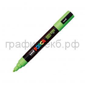 Маркер декоративный UNI POSKA 1,8-2,5мм зеленое яблоко цвет72 PC-5M