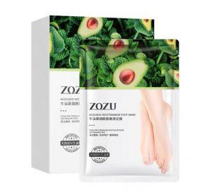 ZOZU, Маска для ног Avocado Nicotinamide, 35 г