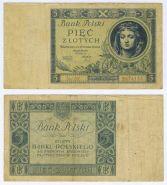ПОЛЬША - 5 злотых 1930 год