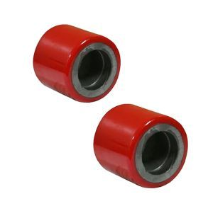 Колесо б/подш. полиуретан 80х70мм для тележки  гидравлической AC DF
