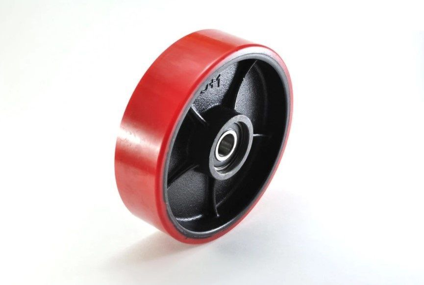 Колесо с подш., полиуретан 80х50мм для HLS