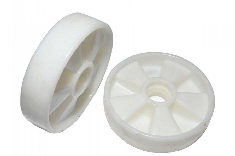 Колесо б/подш. нейлон 180х50 мм для тележек  гидравлических