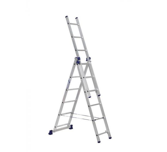 Лестница 3-секционная алюминиевая TOR VL3-13