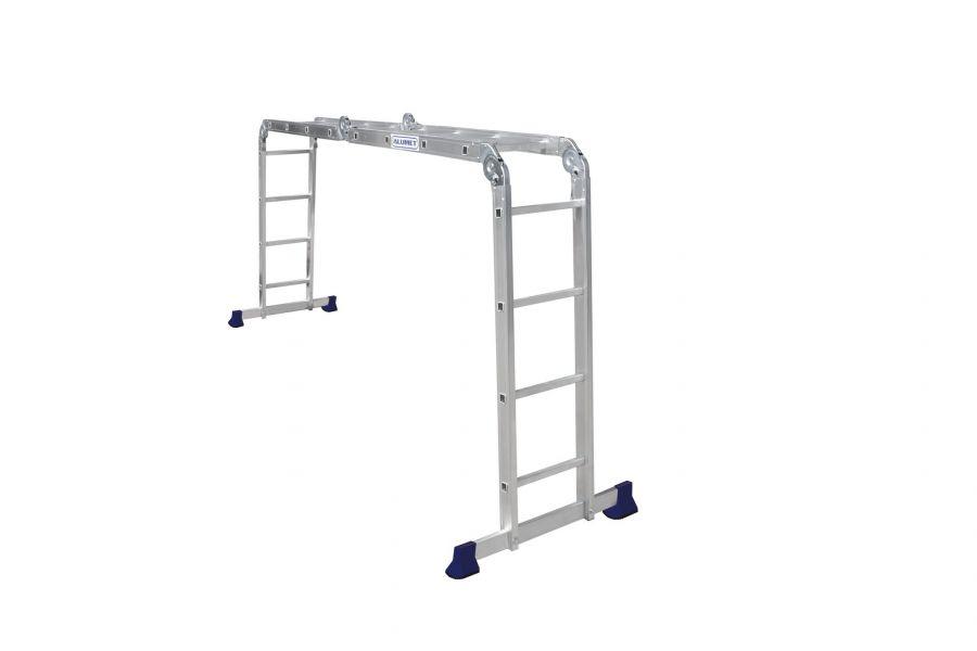 Лестница-трансформер алюминиевая TOR ТL4044  4*4