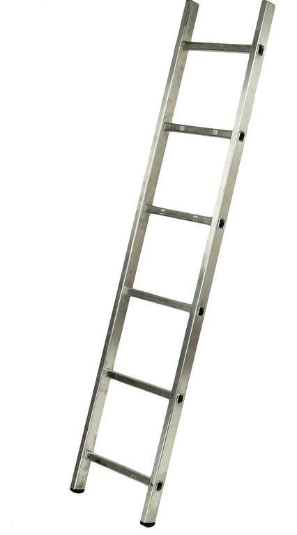 Лестница приставная алюминиевая 1*6