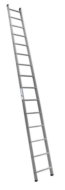 Лестница приставная алюминиевая 1*17