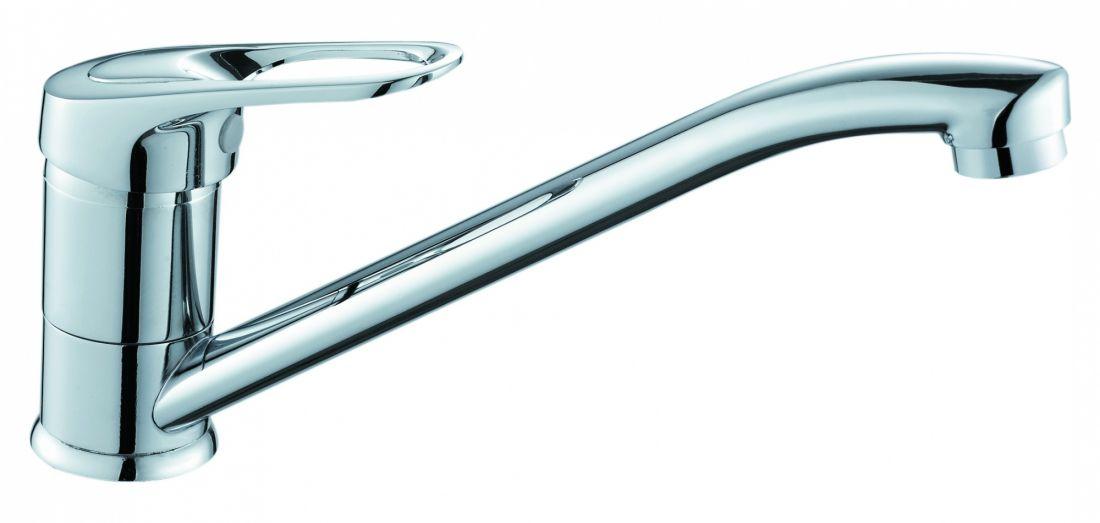 Смеситель для кухни с поворотным изливом SOL1100
