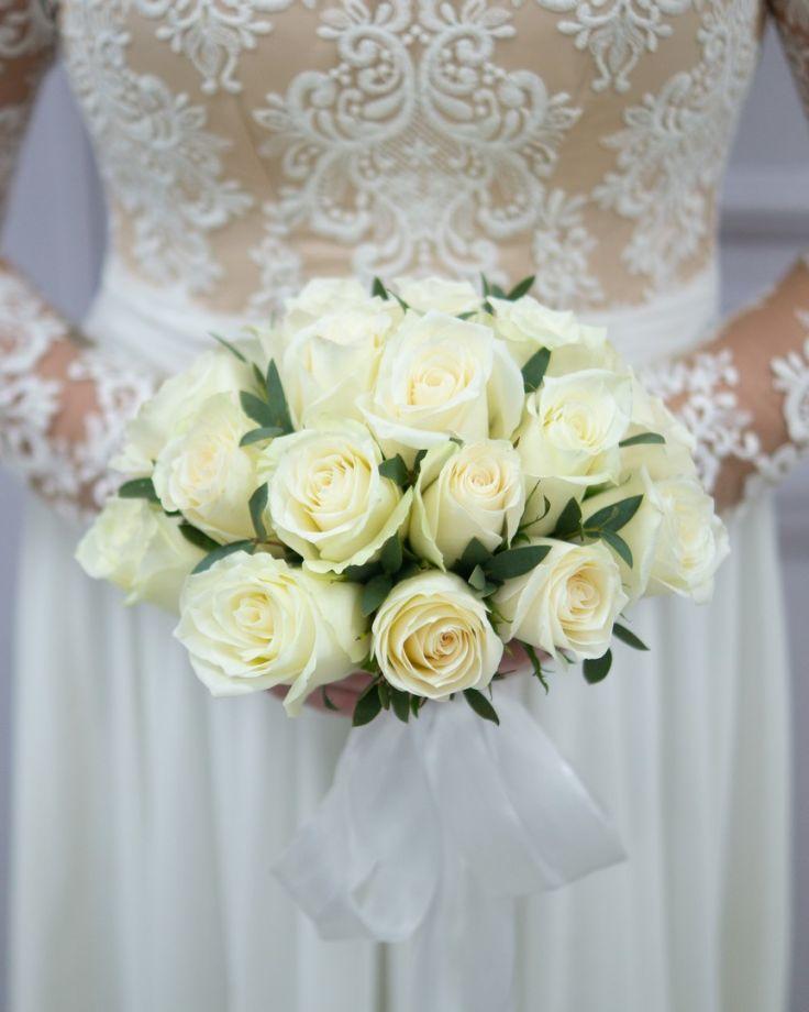"""Букет невесты """"Белые росы"""""""