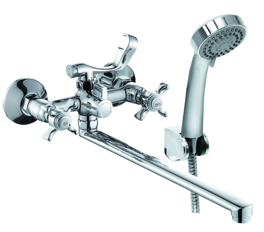 Смеситель для ванны с длинным изливом  EDL2600