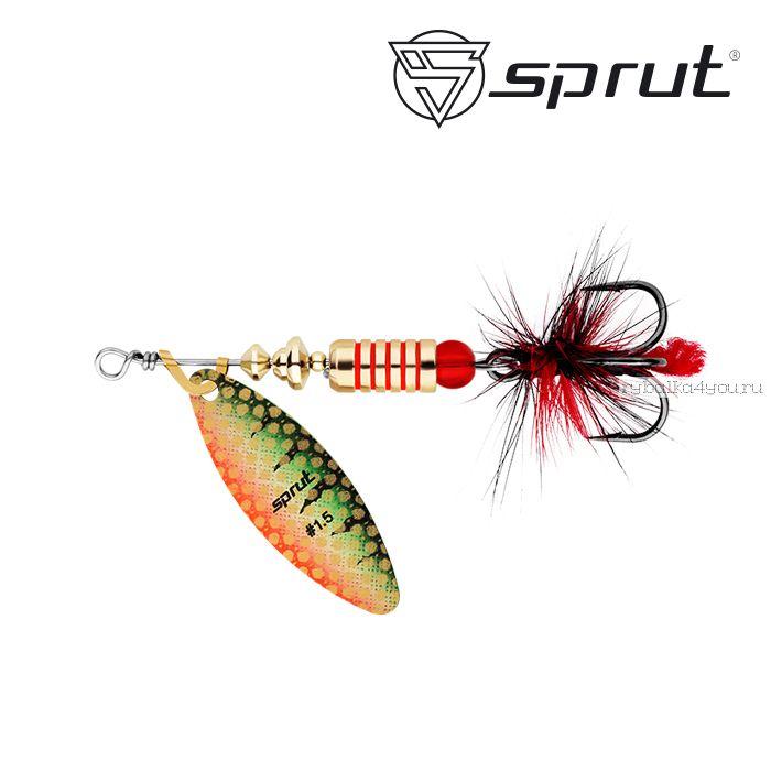 "Блесна Вращающаяся ""Sprut"" Atra Spinner #1,5 (6g/GP)"