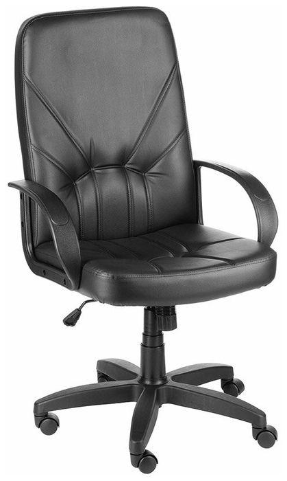 Компьютерное кресло Olss Менеджер ULTRA Чёрное Экокожа