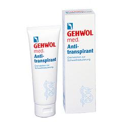 Gehwol Med Anti-Transpirant - Крем-лосьон антиперспирант 125 мл