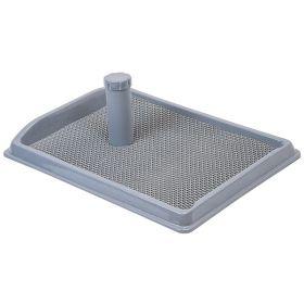 Дарэлл Рокки Туалет для собак со столбиком и резиновым ковриком, 55*40см