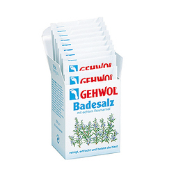 Gehwol Bath Salt - Соль для ванны с розмарином 10*25гр (250 гр)