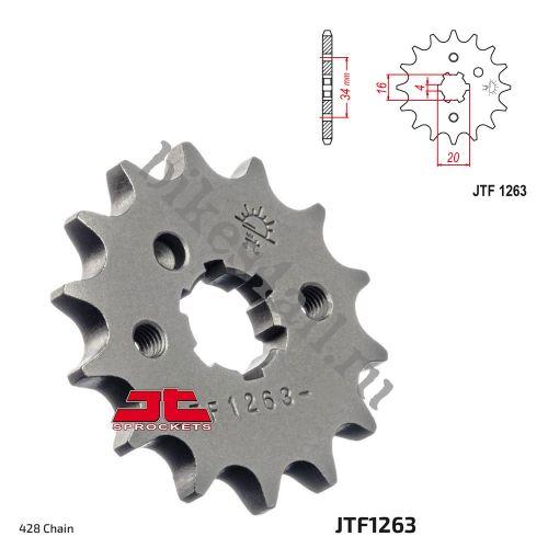 Звезда ведущая JTF1263.15 Yamaha YBR125 увеличенная