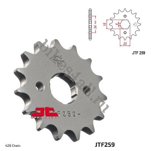 Звезда ведущая JTF259.16 Stels Flex 250 / Flame 200 / Irbis TTR250R