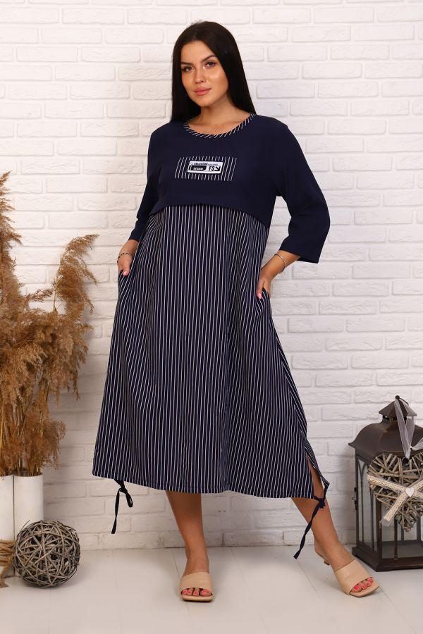 Платье 31538 [синий]