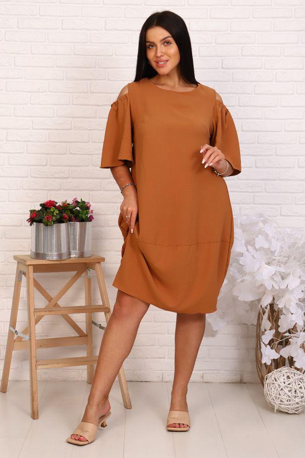 Платье 39503 [коричневый]