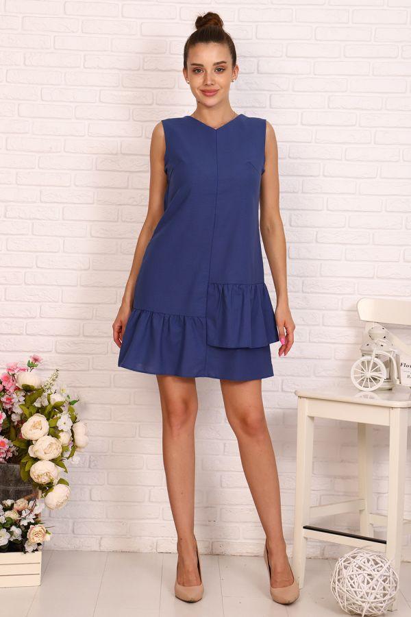 Платье 10399 [синий]