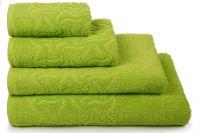 Полотенце махровое Радуга [зеленый]