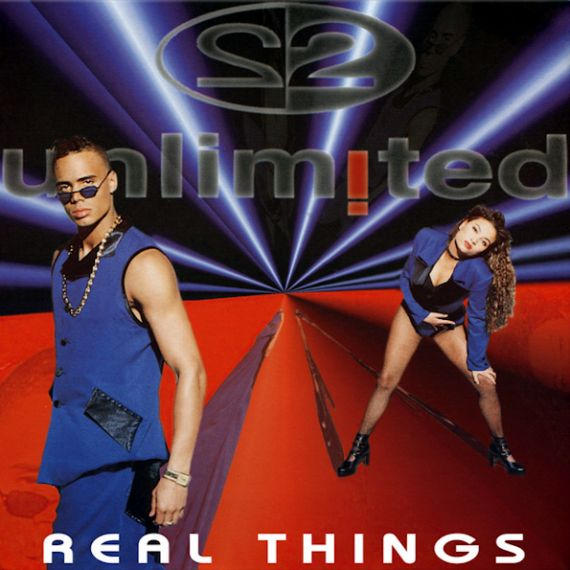 2Unlimited - Real Things 1994 (2021) 2LP
