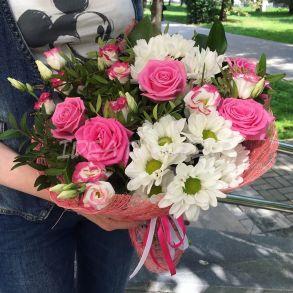 Букет «Pink roses»