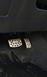 Накладки на педали, алюминий, а/м с Акпп/CVT