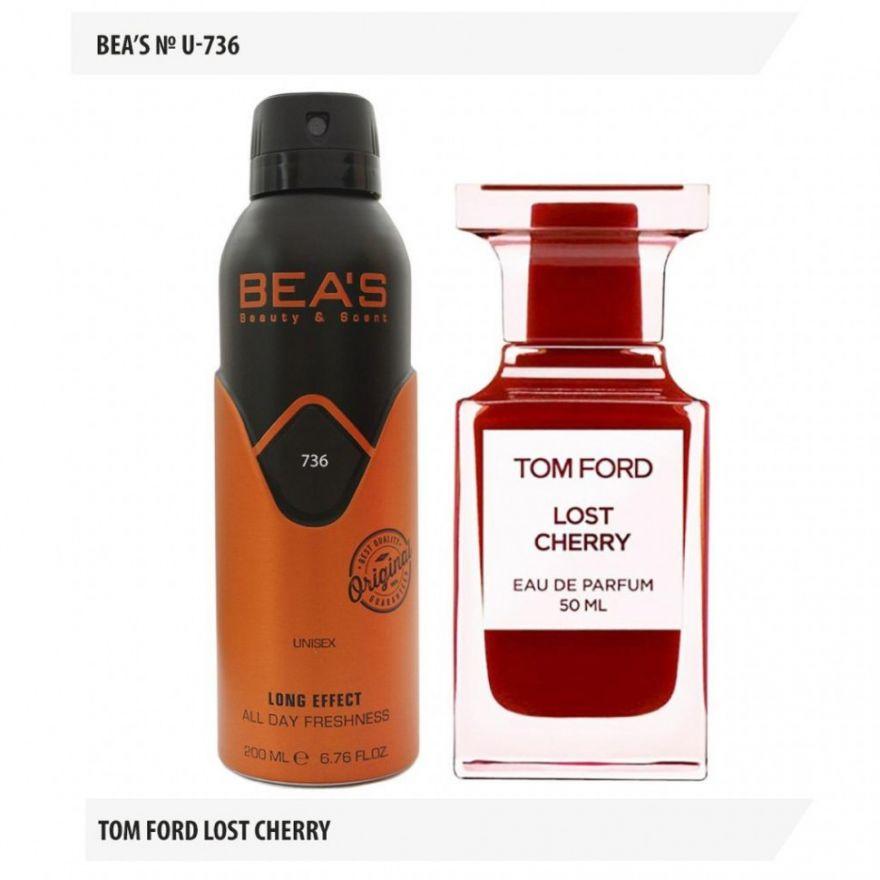 Дезодорант BEA'S U-736 Tom Ford Lost Cherry 200мл