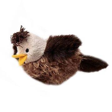 Птичка со звуковым чипом/искусственный мех