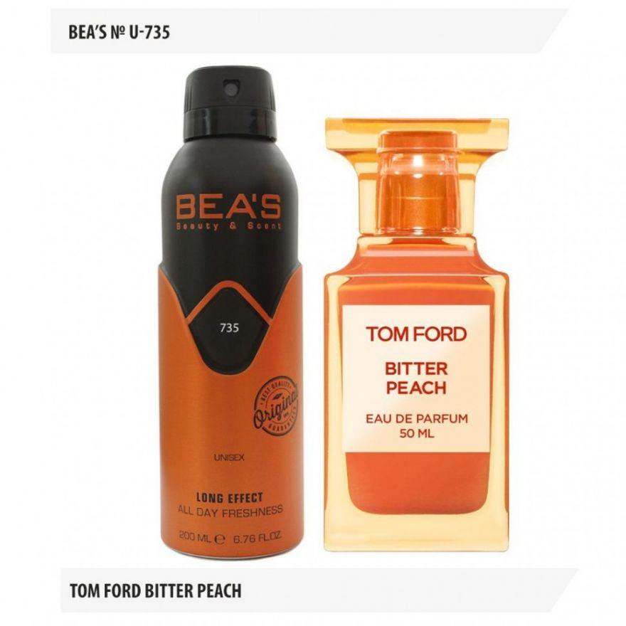 Дезодорант BEA'S U 735 - Tom Ford Bitter Peach 200мл