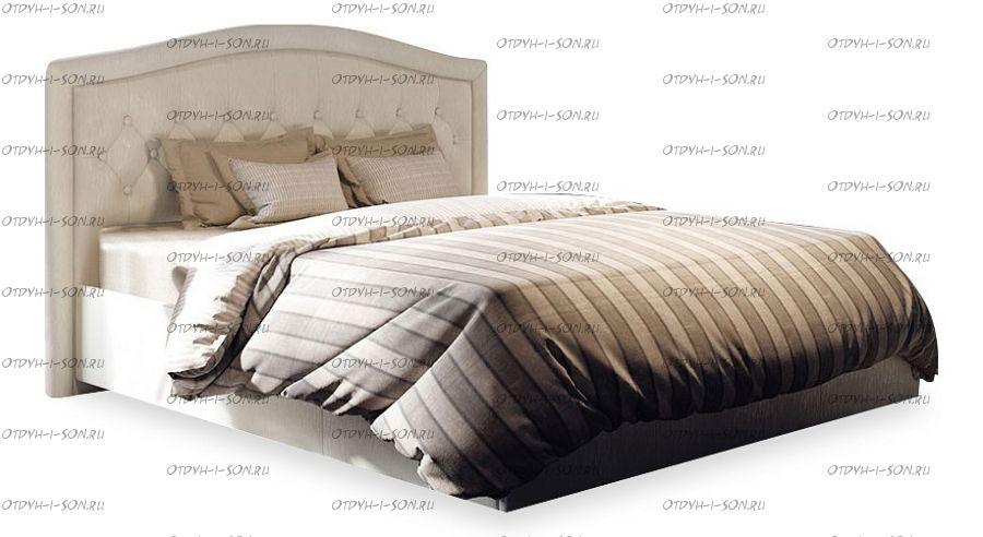 Кровать мягкая Адель СМ-300.01.11(1) (160) Крем