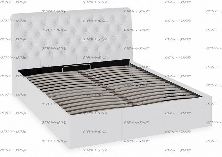 Кровать Скарлет с подъемным механизмом 1600 Белая