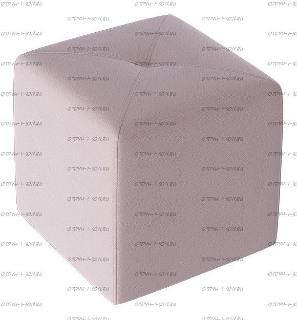 Пуф Тип 6 Велюр Светло-лиловый