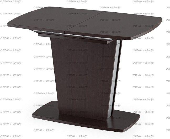 Стол обеденный Ливерпуль Тип 1 Дуб Миланский/Металлик