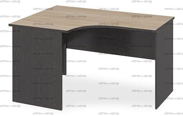 Стол угловой письменный Успех-2 ПМ-184.05 Венге Цаво, Дуб Сонома