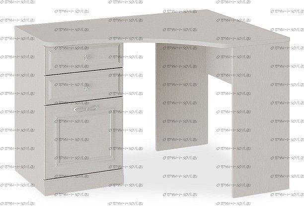 Стол угловой с опорой Сабрина СМ-307.15.003-01 Кашемир