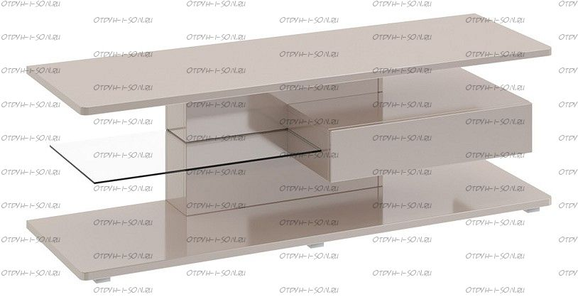Тумба Diamond ТВ тип 1 Бежевый глянец