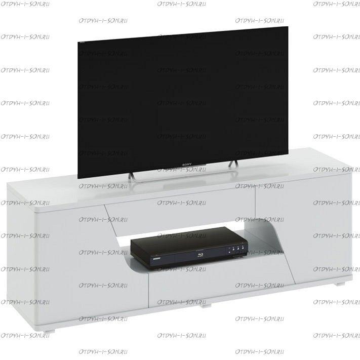 Тумба Diamond ТВ тип 5 Белый глянец