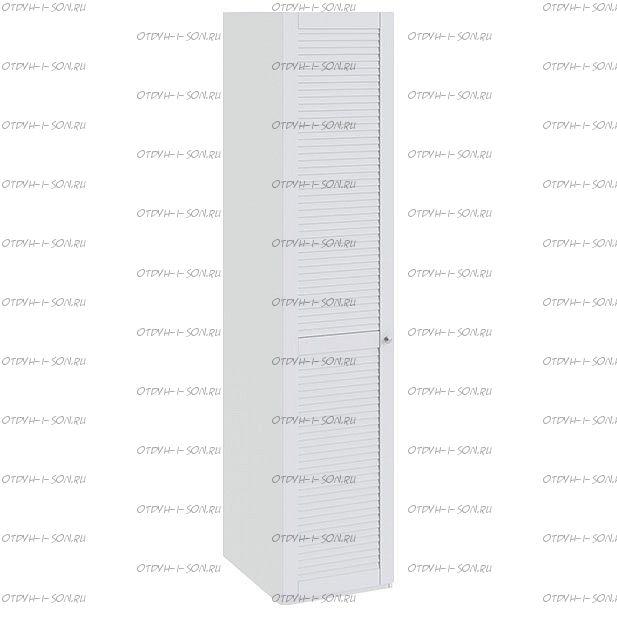 Шкаф для белья Ривьера СМ 241.07.001 L с 1-й дверью Белый