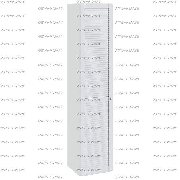 Шкаф для белья Ривьера СМ 241.21.001 L с 1 дверью Белый