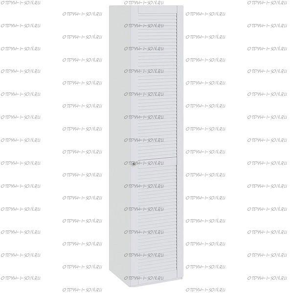 Шкаф для белья Ривьера СМ 241.21.001 R с 1 дверью Белый