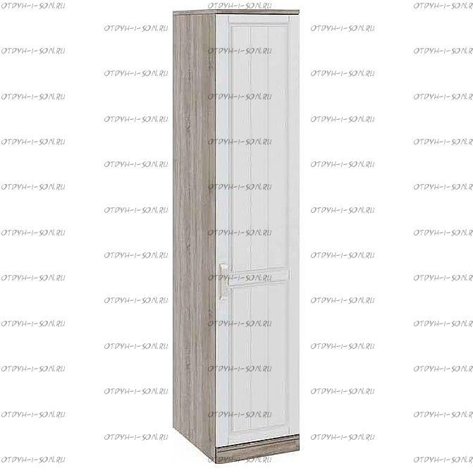 Шкаф для белья с 1 дверью Прованс СМ-223.07.001R (580) Дуб Сонома трюфель/Крем