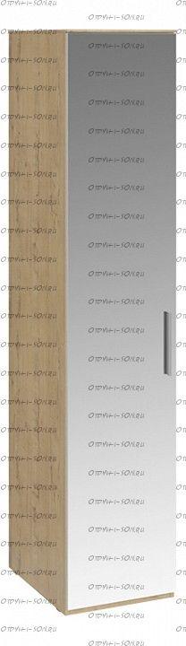 Шкаф для белья с 1 зеркальной дверью левый Николь СМ-295.07.002 L Бунратти
