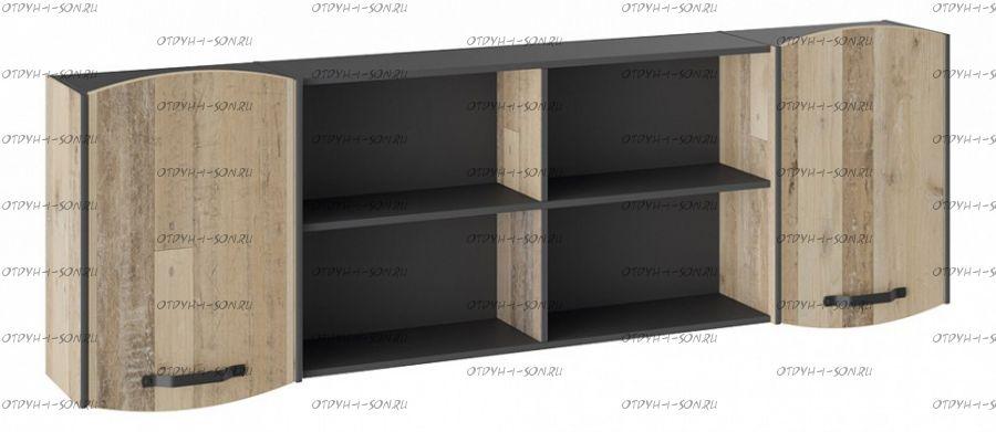 Шкаф навесной Кристофер ТД-328.12.21 Фон Серый/Олд Стайл