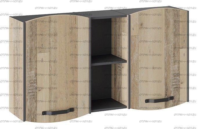 Шкаф навесной Кристофер ТД-328.15.11 Фон Серый/Олд Стайл
