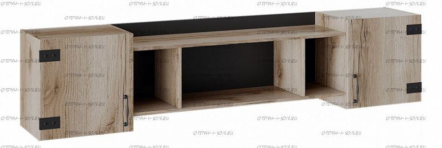 Шкаф навесной Окланд ТД-324.12.21 Фон Черный/Дуб Делано