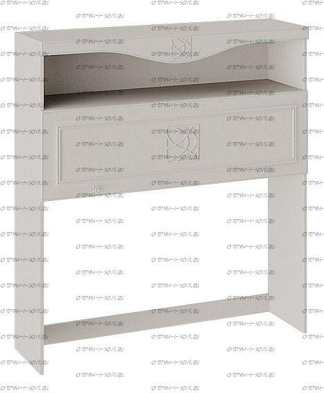 Шкаф навесной с карнизом Сабрина (Кашемир) СМ-307.15.001